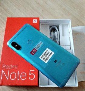 Новый XIAOMI Note 5 32GB два бампера и стекло
