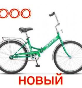 Велосипед новый! Колеса 24, рама 16.