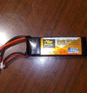 Литий полимерный аккумулятор. Li-po акб