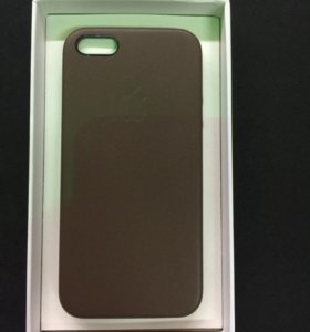 Чехол Apple iPhone 5\5S Lether Case Brown ORIGINAL