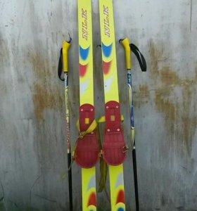 Лыжи детские NLK junior 120см.