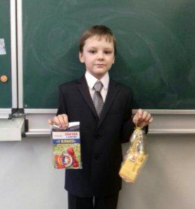 Детский костюм( школьная форма)