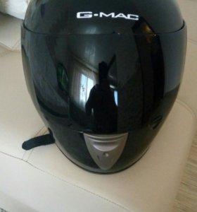 Мото шлем с темным визором