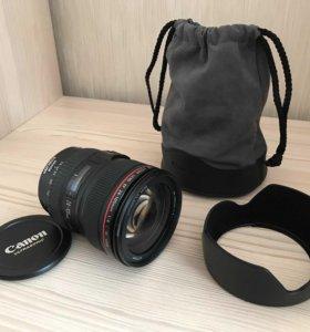Объектив Canon EF 24-105 f/4L IS USM Kit