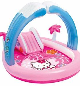 Надувной игровой центр Hello Kitty новый