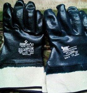 Перчатки краги КР (рабочие)
