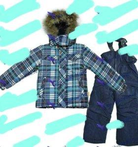 Зимний костюм для мальчика новый 92 размер