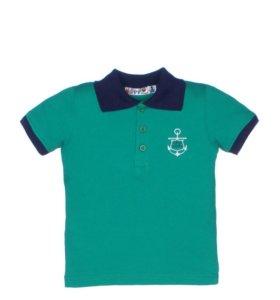 Новые футболки-поло мальчикам 3,4,5,6,7 лет