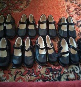 Новые туфли школьные!!!р30,32,33