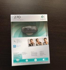 Веб-камера Logitech c270 новая