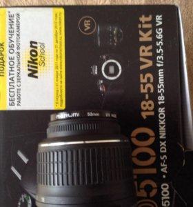 "Зеркальная фотокамера ""Nikon 5100"""