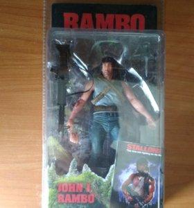 Фигурка Рэмбо (neca rambo first blood)