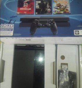 Игровая приставка Sony PS4 память 1 ТБ