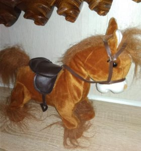 Танцующая и поющая лошадь