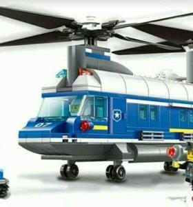 Лего вертолет полметра !