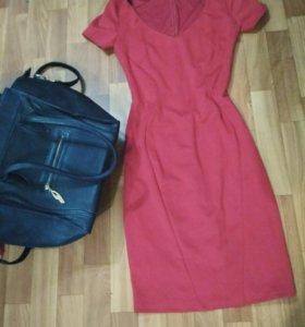 Платье, сумка