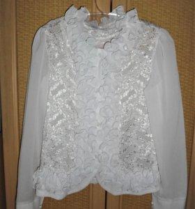 Куртка джинс., блузка, платье