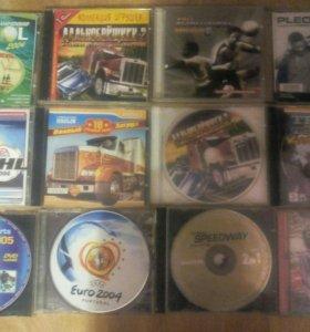 Игровые диски на комп