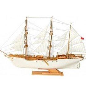 Модель для сборки - парусное судно Товарищ (новое)