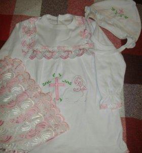 Одежда на крещение детская