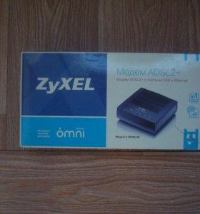 Модем ADSL2+ ZyXEL