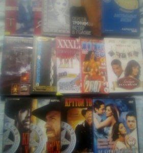 Диски с фильмами новые