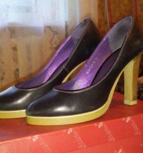Туфли кожанные, 36 размер