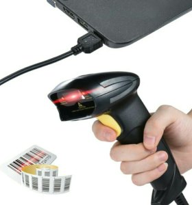 Сканер штрих кода USB