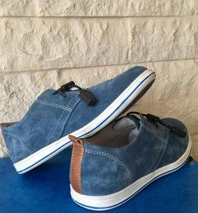 Туфли мальчику р.32-33 замшевые EL Tempo