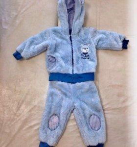 Плюшевый детский костюм 80
