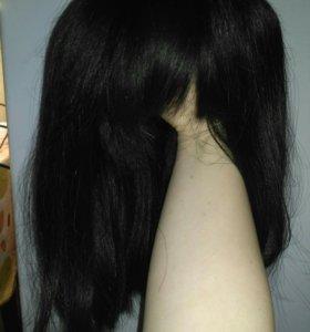 Парик накладка (натуральный волос)