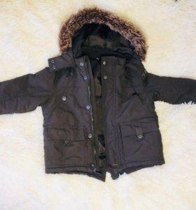 98 рост Куртка для мальчика деми