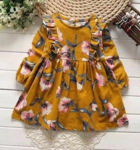 Платье на девочку 86 размер новое