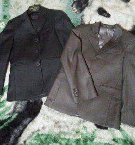 2 пиджака VAN CLIFF (серого цвета)