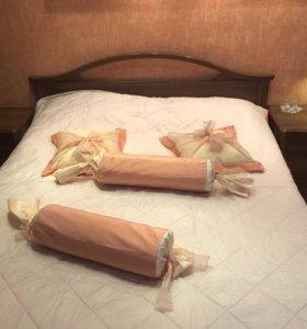 Кровать двухспальная, ширина 160см.