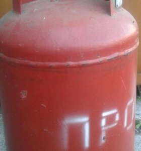 Газ баллон б/у 27 литров