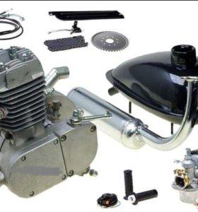 Мотор бензиновый для велосипеда F80