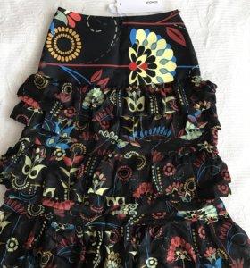 Новая юбка италия шёлк dondup