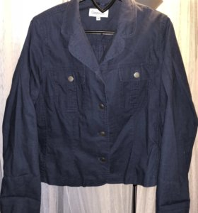 Новый льняной пиджак