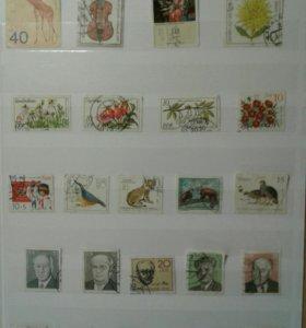 Коллекция почтовых марок 1970-1980г.г.