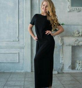 Легкое летнее платье для кормящих и беременных