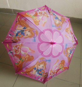 "Детский зонт феи ""Винкс"" полуавтомат"