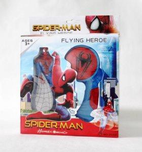 Летающий супергерой человек-паук