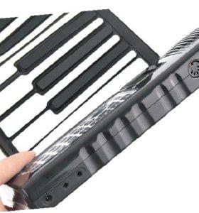Цифровое гибкое пианино 49 клавиш midi