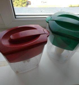2 фильтра для воды + сменный катридж