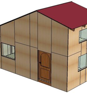 Дом, 19.5 м²