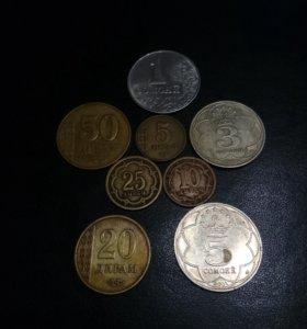 Монеты бывшей страны СССР