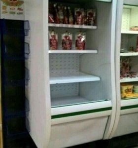 Горка холодильная открытая