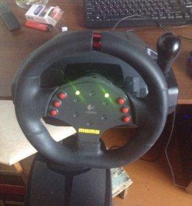 Руль Logitech momo racer club