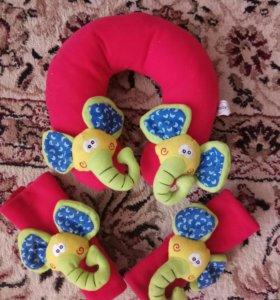 Подголовник-подушка детский для путешествий